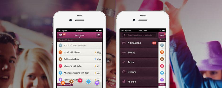 Mobilní aplikace Waymi