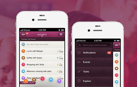 Waymi mobilní aplikace
