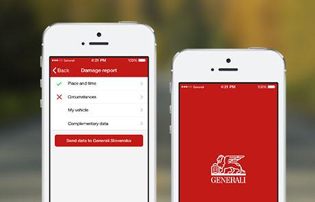 Mobilní aplikace Generali